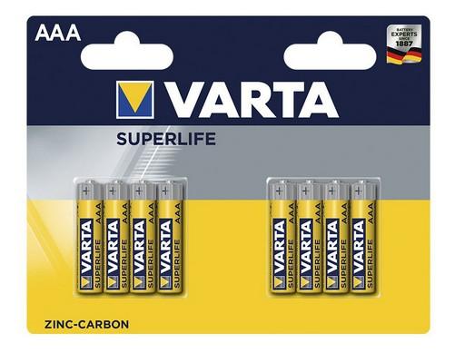 Baterie Varta Superlife, AAA, 8ks
