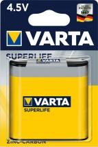 Baterie Varta Superlife, plochá, 4,5V