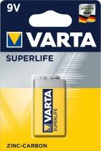 Baterie Varta Superlife, plochá, 9V