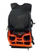 Batoh na digitální zrcadlovku TNB BPDCXSHOT3 černá/oranžová