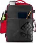 Batoh na notebook HP OMEN Gaming 4YJ80AA 17 , černá/červená