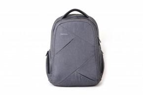 Batoh na notebook Kingsons Sliced Grey 15,6 | CEL-TEC