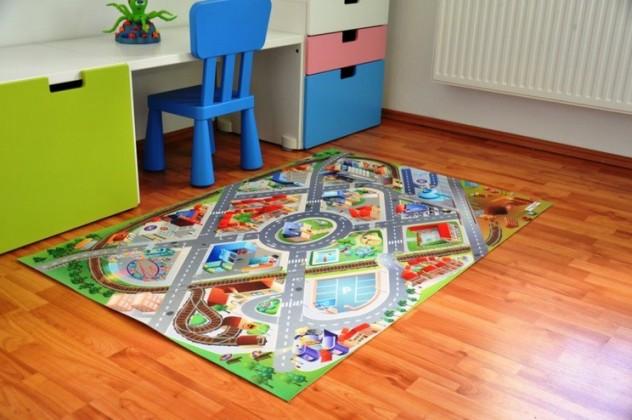 Bazar dětské pokoje 3D Letiště - Kus.koberec 100X150cm