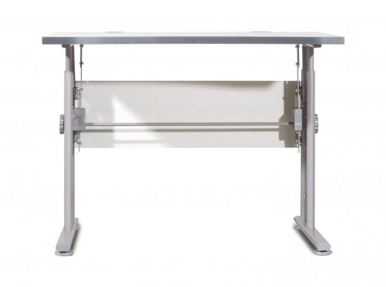 Bazar kanceláře GW-Profi-Stůl,výškově stavitelný,šířka 100cm (světle šedá)