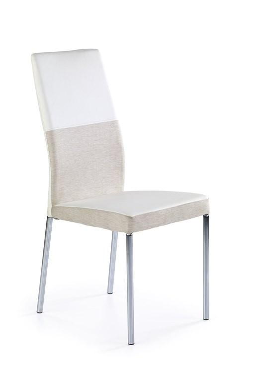 Bazar kuchyně, jídelny K173 - Jídelní židle (bílobéžová)