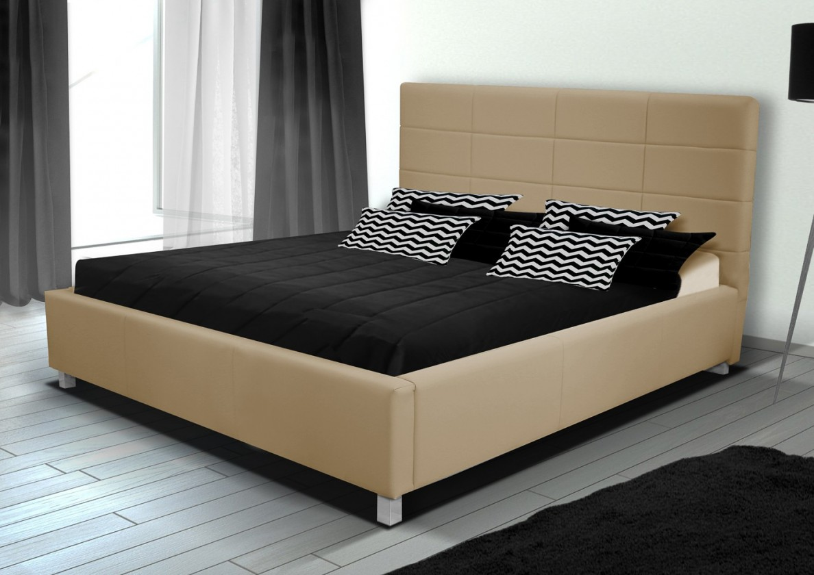 Bazar ložnice Postel IX - 180x200 cm, rošt (soft 01)