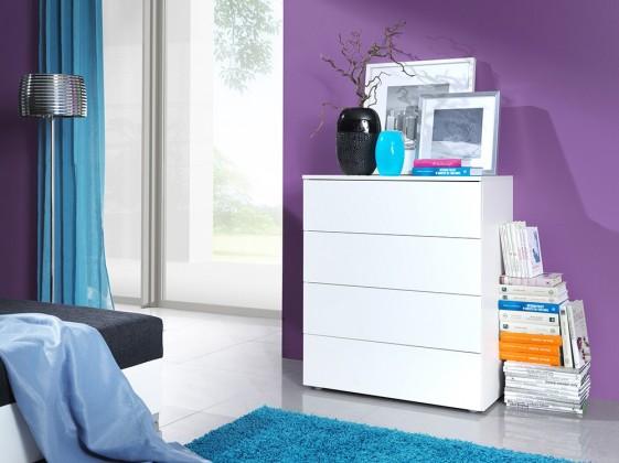 Bazar obývací pokoje Life (bílá mat/bílá lesk)