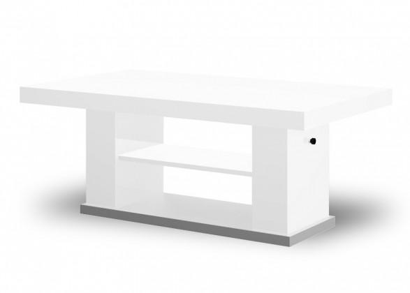 Bazar obývací pokoje Matera 2 (bílá lesk+šedá)
