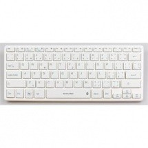 Bazar PC doplňky, kancelář EVOLVEO WK29W Bluetooth CZ, bílá ROZBALENO