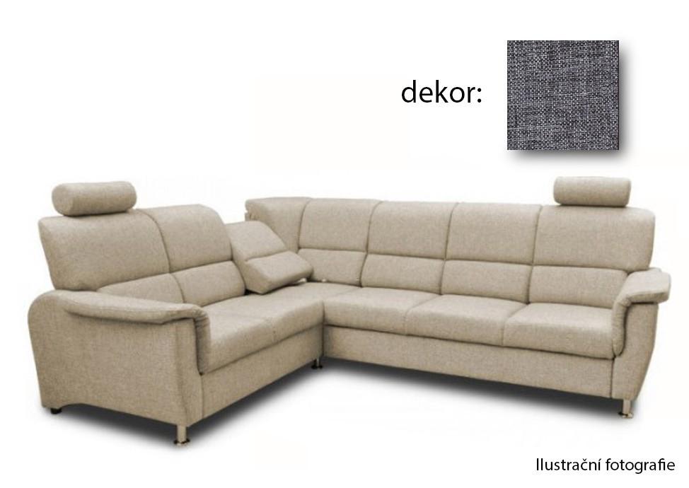 Bazar sedací soupravy Duo Panama - roh levý, relaxační funkce (afryka 730)