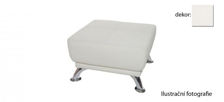 Bazar sedací soupravy Emilia - Taburet (excellent - white h350 )