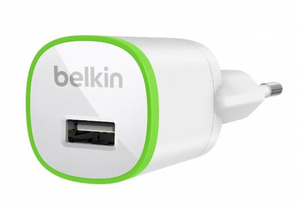 Belkin 230V síťová USB nabíječka, výstup 1A, bílá
