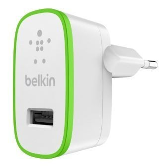 BELKIN USB 230V nabíječka, 1xUSB ,2.1A bílá (F8J052cwWHT)