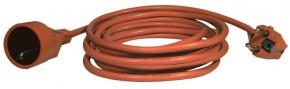 Ben Electronic prodlužovací kabel P01125 25m oranžový 1 zásuvka