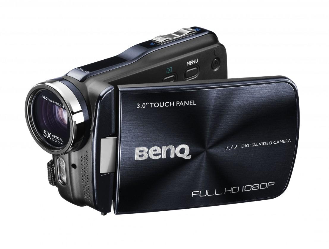 "BenQ Digital video kamera M23 5MP CMOS, 5x optical zoom, 3"" LCD,"