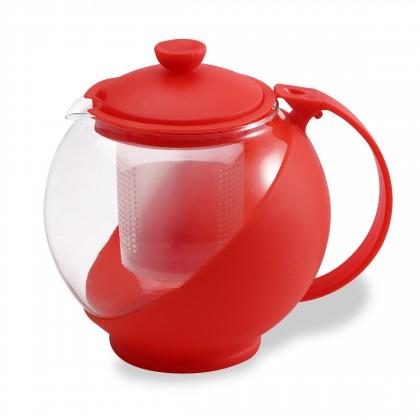 Bergner - konvice na čaj 0,75L (červená)