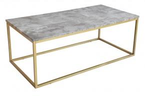 Beside - Konferenční stolek, vzhled bílého mramoru (kov, lamino)