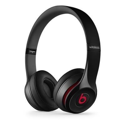 Bezdrátová Beats Solo 2 Wireless, černá - MHNG2ZM/A