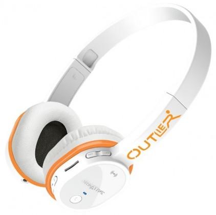 Bezdrátová Creative sluchátka Outlier - bílá ROZBALENO