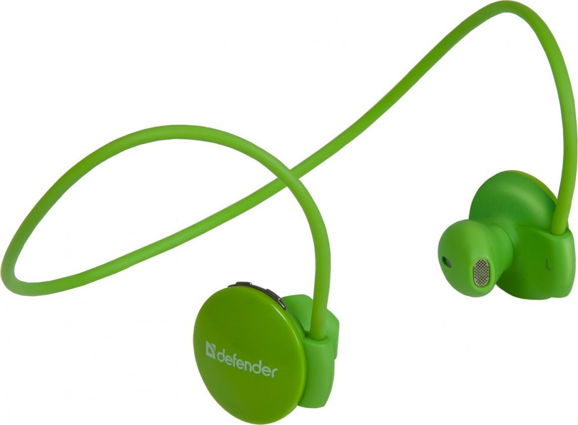 Bezdrátová Defender FreeMotion B611 Bluetooth, zelené