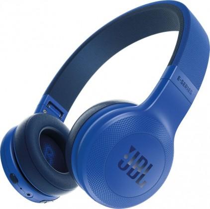 Bezdrátová JBL sluchátka E45BT, modrá