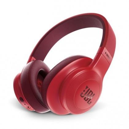 Bezdrátová JBL sluchátka E55BT červená JBL E55BTRED