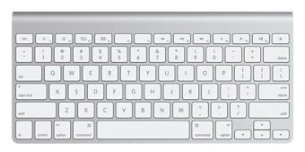 Bezdrátová klávesnice Apple MC184B/B Wireless klávesnice