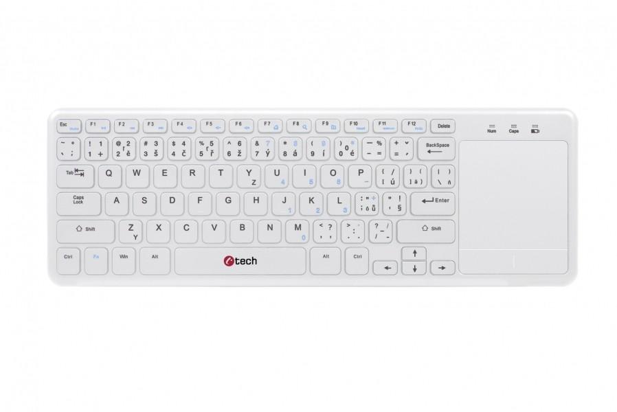 Bezdrátová klávesnice Bezdrátová klávesnice C-TECH WLTK-01W