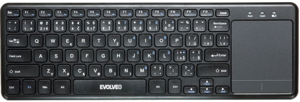 Bezdrátová klávesnice Bezdrátová klávesnice Evolveo WK32BG