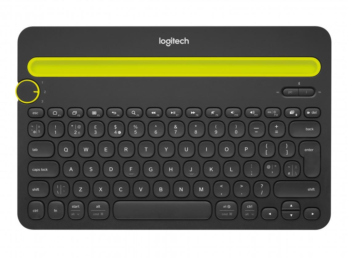 Bezdrátová klávesnice Logitech Bluetooth Multi-Device Keyboard K480