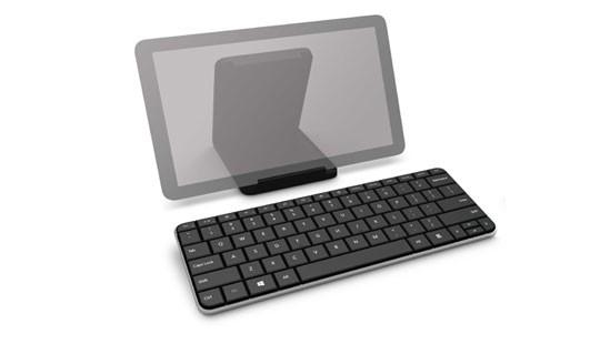 Bezdrátová klávesnice Microsoft Wedge Mobile Keyboard