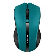 Bezdrátová myš CANYON CMSW05, zelená