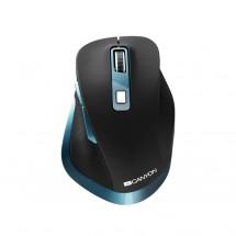 Bezdrátová myš Canyon CNS-CMSW14DG, černo-modrá