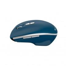 Bezdrátová myš Canyon MW-21BL, 1600 dpi, 7 tl, modrá + Zdarma podložka Olpran