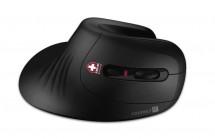 Bezdrátová myš CONNECT IT CMO-2900-BK, ergonomická, černá