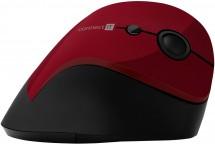 Bezdrátová myš Connect IT CMO2700RD, ergonomická, červená