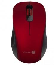 Bezdrátová myš Connect IT Mute (CMO-2230-RD)