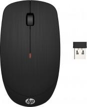 Bezdrátová myš HP X200, černá + Zdarma podložka Olpran