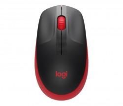 Bezdrátová myš Logitech M190, červená