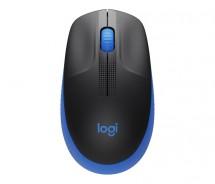 Bezdrátová myš Logitech M190, modrá