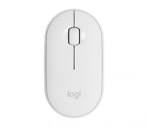 Bezdrátová myš Logitech M350, bílá