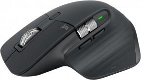 Bezdrátová myš Logitech MX Master 3, profesionální, tmavě šedá