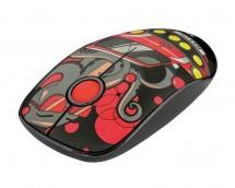 Bezdrátová myš Trust Sketch, červená