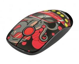 Bezdrátová myš Trust Sketch, červená + ZDARMA podložka Olpran