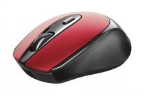 Bezdrátová myš Trust Zaya, červená, dobíjecí