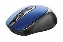 Bezdrátová myš Trust Zaya, modrá, dobíjecí