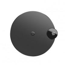 Bezdrátová nabíječka Baseus, s LED displejem, černá
