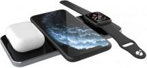 Bezdrátová nabíječka Prestigio ReVolt, pro apple watch, černá