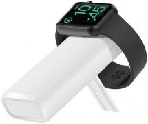 Bezdrátová powerbanka COTEetCI 5200mAh pro Apple Watch, bílá