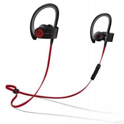 Bezdrátová Powerbeats 2 Wireless, černá -MHBE2ZM/A